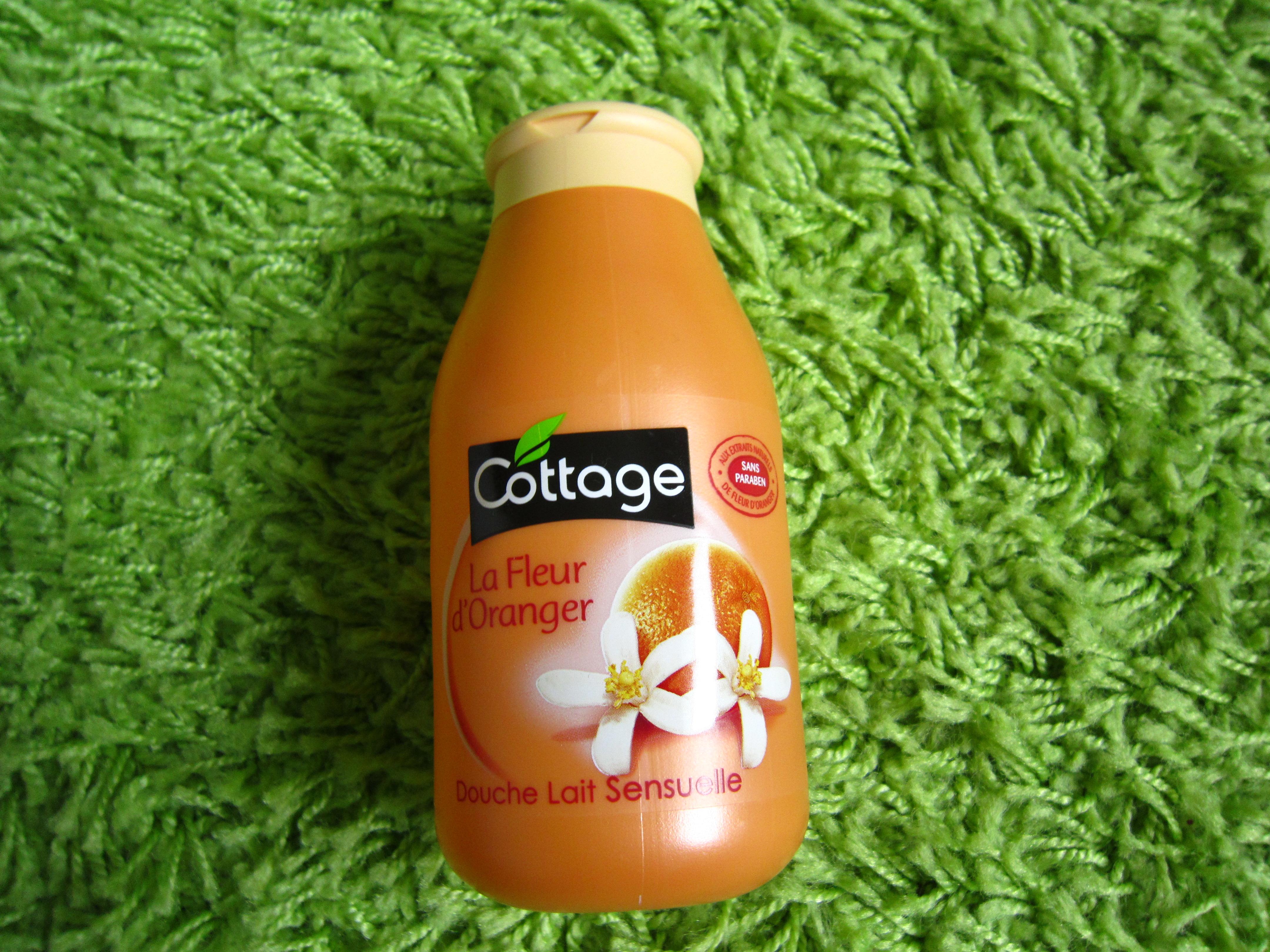 douche lait sensuelle: la fleur d'oranger de cottage – dans le