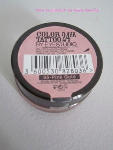 Color tattoo 24h de Gemey Maybelline