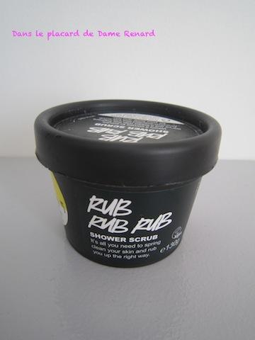 Rub Rub Rub: le gommage par Lush