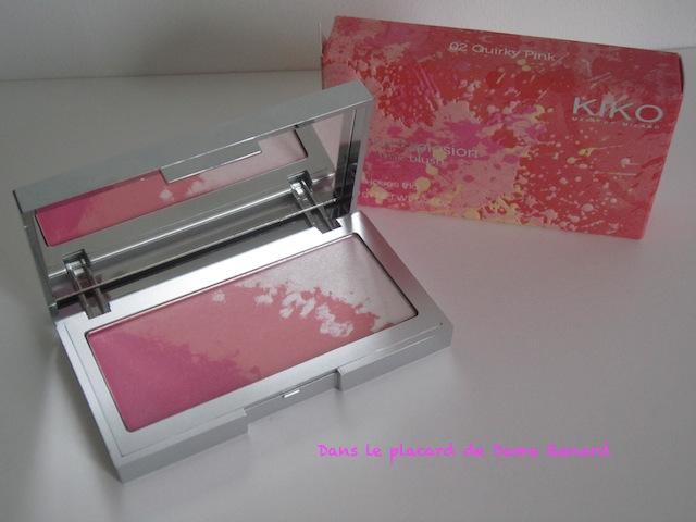 Multi-Tone Blush Colour Explosion teinte 02 Quirky Pink de Kiko
