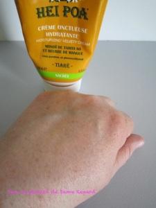Monoï et beurre de mangue: la crème onctueuse hydratante de Hei Poa