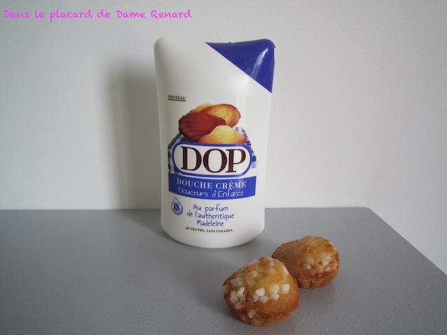 Douche crème Douceurs d'enfance au parfum de l'authentique Madeleine par Dop