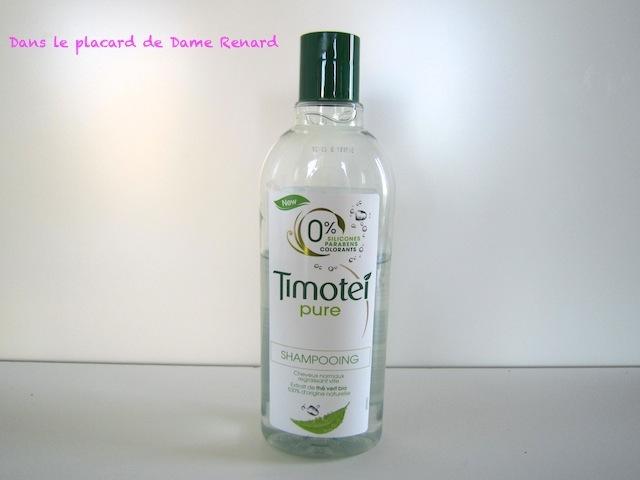 Shampoing Timotei pure