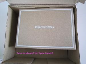 BirchBox de Septembre