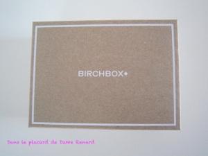 BirchBox de Septembre: Inspirations