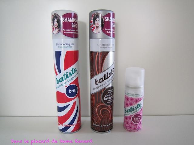 Batiste, il est comment ton shampoing...sec? (version brit)