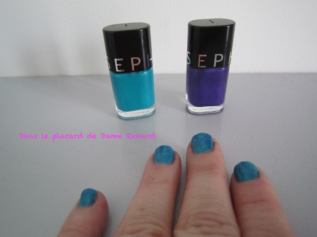 Vernis: Keep me posted! et New year's resolution...