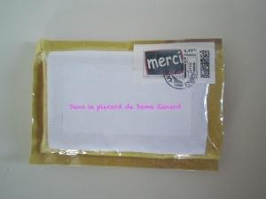 C'est déjà Noël même dans ma boîte aux lettres #36...