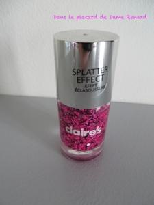 Vernis Splatter Effect Claire's