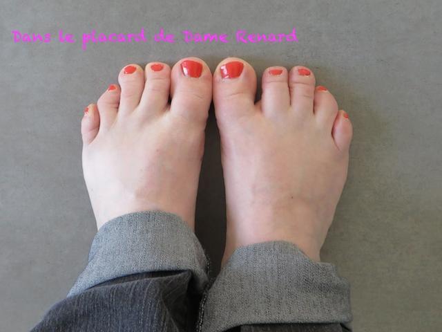 Jeudi coquetterie: C'est le pied!