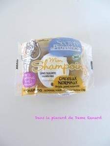 Mon shampoing pour cheveux normaux à l'argile jaune naturelle de Secrets de Provence