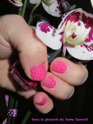 Stamping Roses