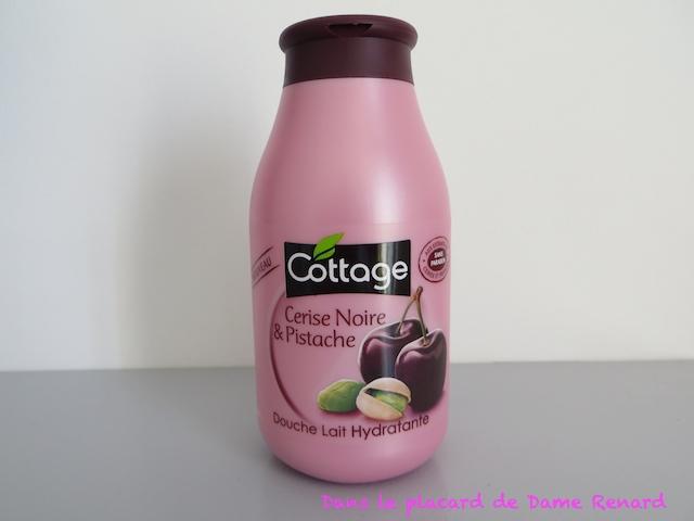 Douche Lait Hydratante Cerise Noire Pistache Cottage Dans Le