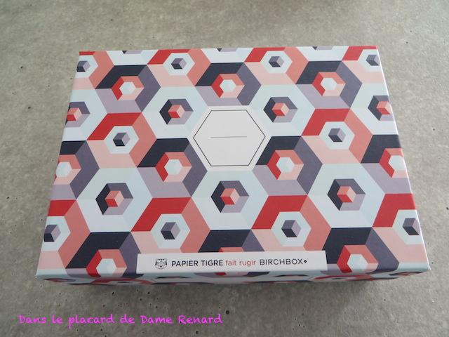 BirchBox x Papier tigre (Mai 2014)