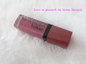Rouge Edition Velvet: Nude-ist Bourjois