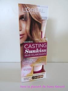 Casting Sunkiss: la gelée éclaircissante par L'Oréal
