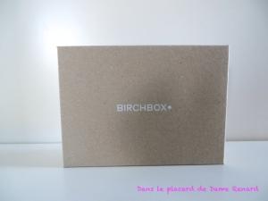 Birchbox: Ode à la paresse (août 2014)