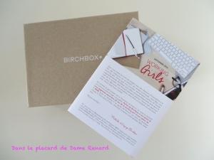 BirchBox: Working Girl Septembre 2014