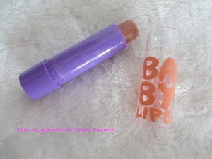Peach Kiss: Baby lips Maybelline