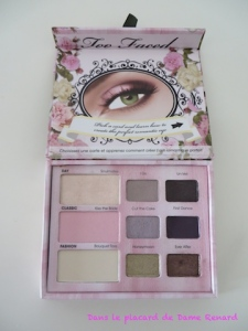 Palette Romantic Eye Too Faced