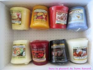 Mes astuces pour les tarts et votives Yankee Candle