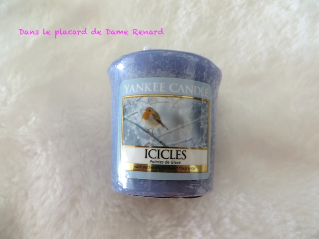 Icicles (Pointes de glace) Yankee Candle