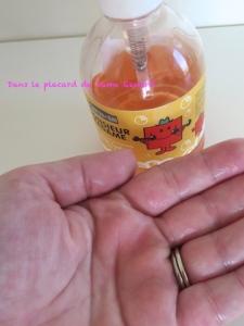 Savon liquide Monsieur Costaud parfum Fleur d'Oranger Le Comptoir du bain