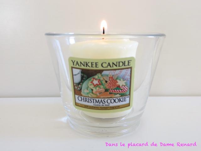 Bougie: Christmas Cookie (Cookie de Noël) Yankee Candle