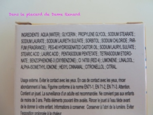 Savon Monsieur Chatouille parfum Mandarine Le Comptoir du Bain