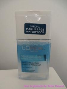 Démaquillant waterproof L'Oréal