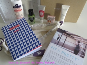 BirchBox: Fit & Pretty (janvier 2015)