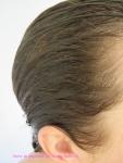 Cheveux rinsés