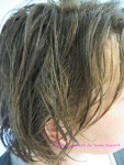 Cheveux encore humides
