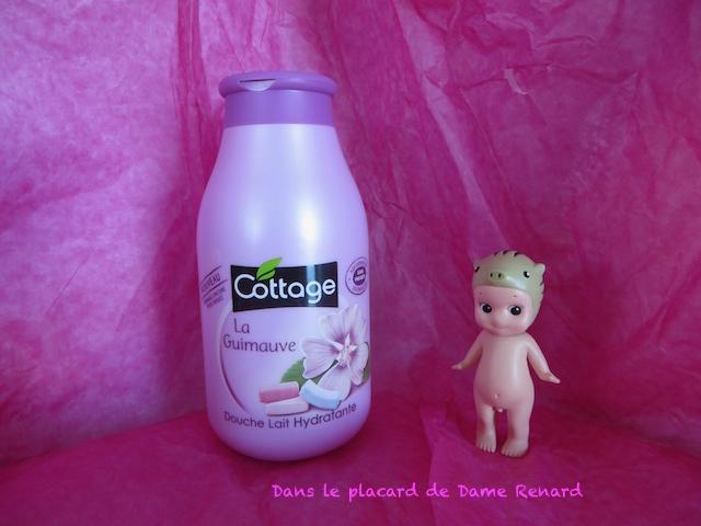 Douche lait hydratante: La guimauve par Cottage