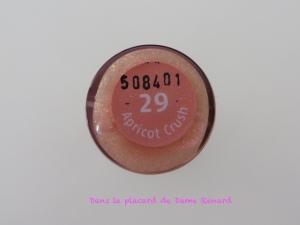 Lip gloss teinte 29 Apricot crush Cien