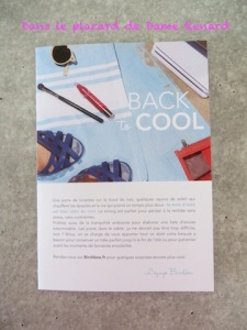 Birchbox: Back to cool (août 2015)