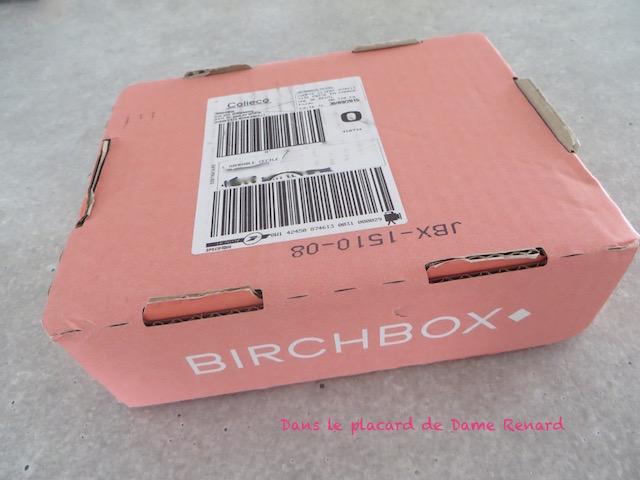 Birchbox: Beauty and the Best (Octobre 2014)