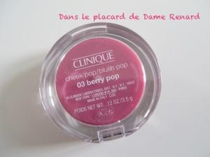 Trousse Cheek Pop Collection Ruban Rose Clinique