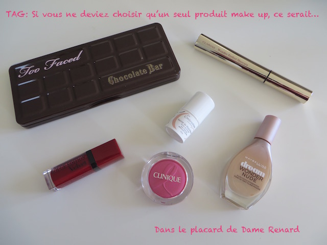 TAG: Si vous ne deviez choisir qu'un seul produit make up, ce serait…