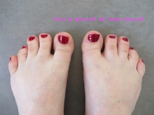 Défi du lundi: Pédicure et soin des pieds