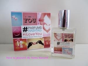 #iLoveYou par #ParfumsHastag
