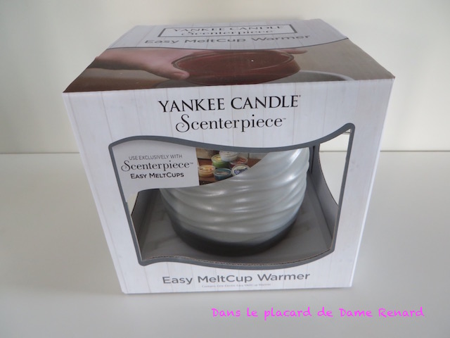 Easy MeltCup Warmer Yankee Candle