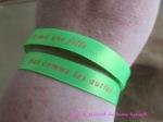 Bracelet satin Lucky Team