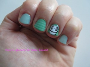 NA: verts, rayures et pandas