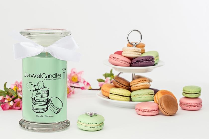 jewelcandle-bougie-parfumee-pistachio-macarons-bague-fr