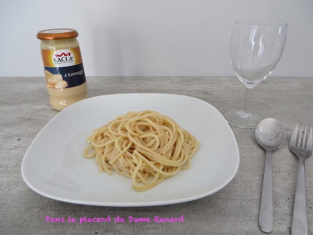 Sauce 4 formaggi sacl un d lice dans le placard de - Odeur de renferme dans les placards ...
