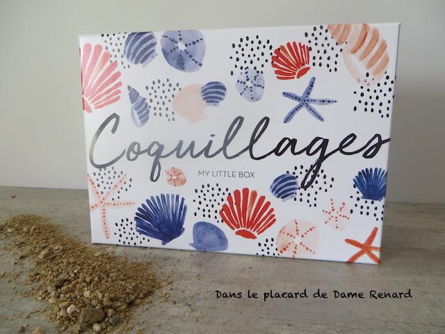 my little coquillages box my little box juillet 2017 m emm nera t elle en vacances dans le. Black Bedroom Furniture Sets. Home Design Ideas
