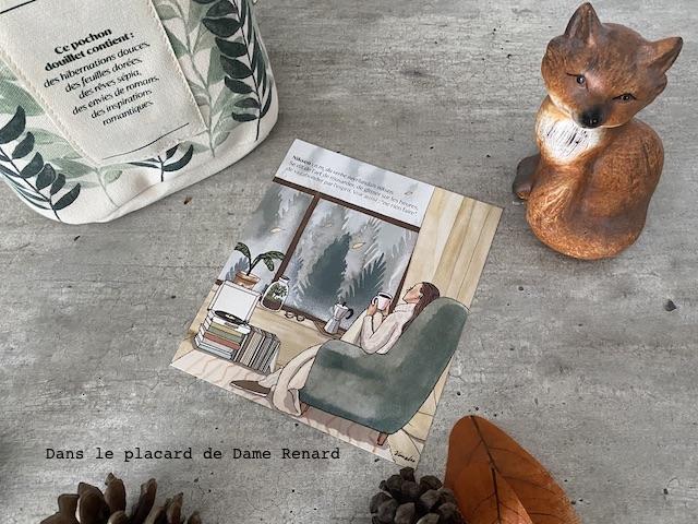 illustration kanako My little box cocoon octobre 2020