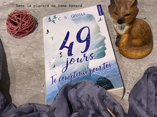 49 jours Je compterai pour toi C.S.Quill édition Hugo Roman
