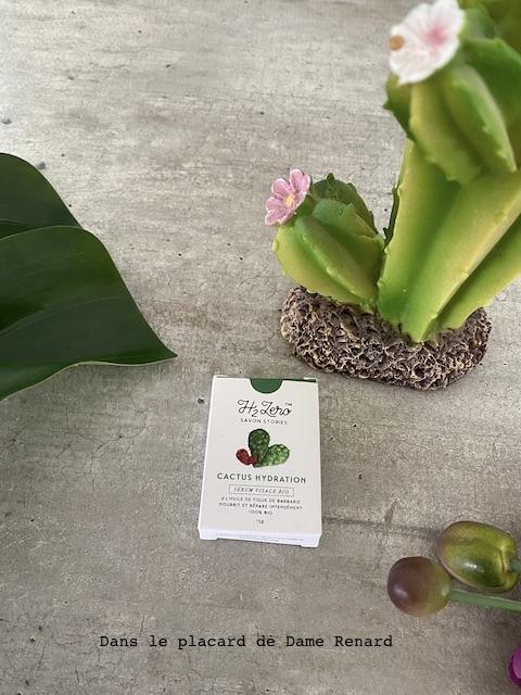 sérum visage bio Cactus Hydratation Savon Stories